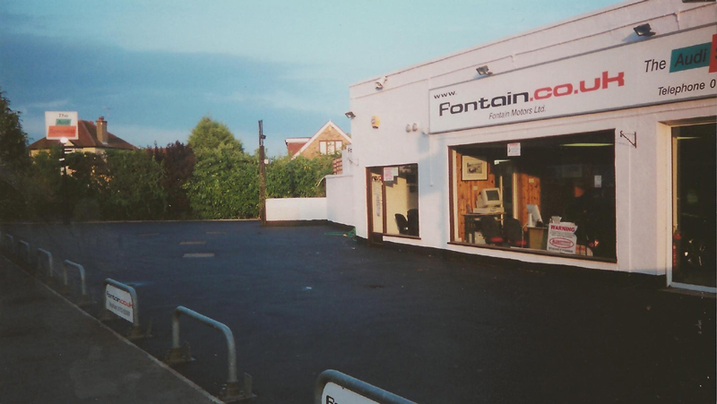 Commercial Tarmac Resurfacing